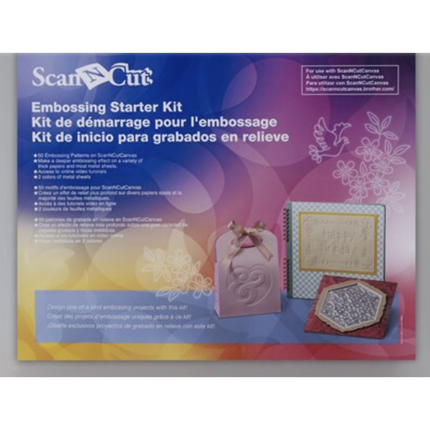 Brother BROTHER EMBOSSING STARTER KIT SCAN N CUT