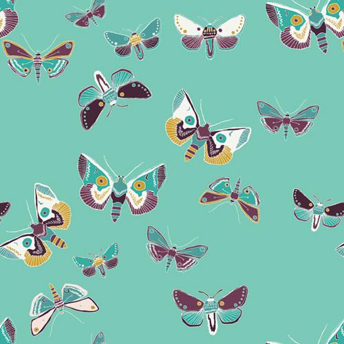 ART GALLERY LUGU LUGU, PER CM OR $21/M  Moths