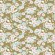 tilda Woodland, Aster Floral, Olive 100297 per cm or $20/m