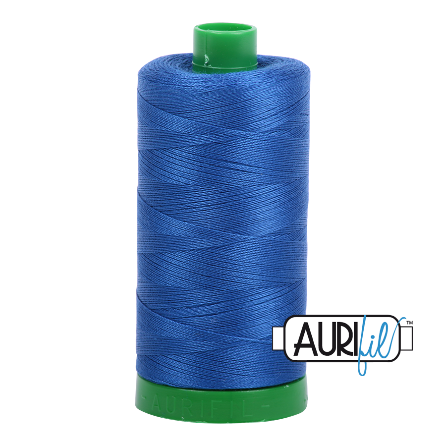 AURIFIL AURIFIL 40 WT Medium Blue 2735