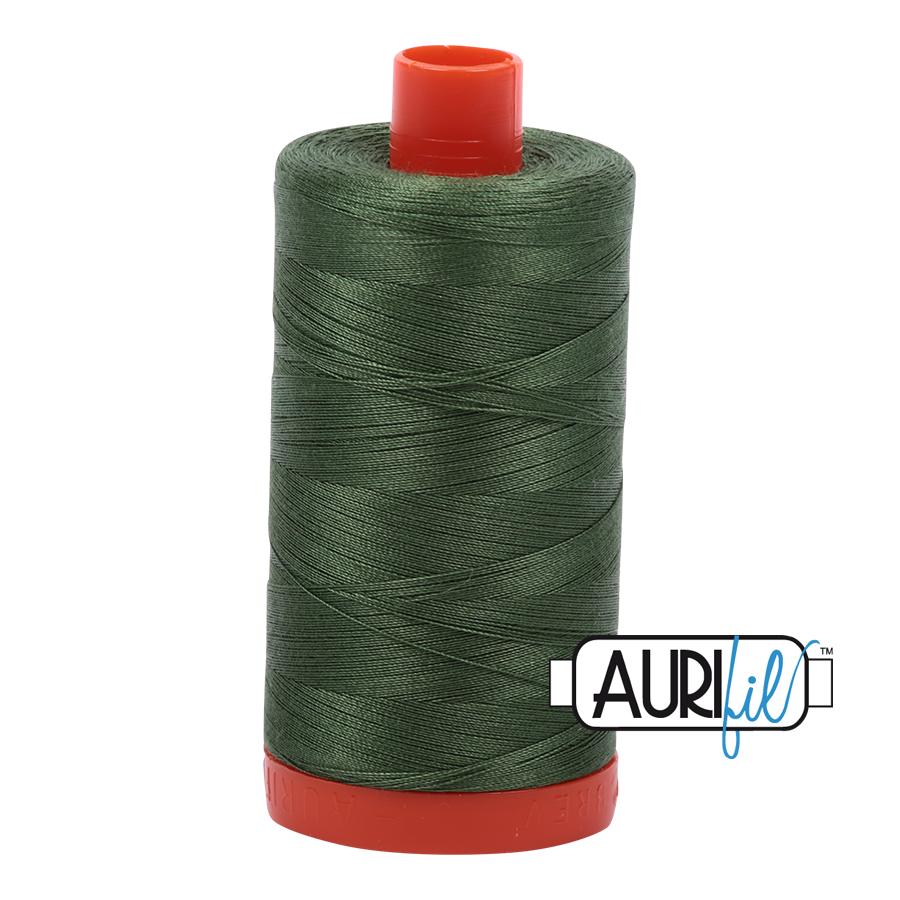 AURIFIL AURIFIL 50 WT Very Dark Grass Green 2890