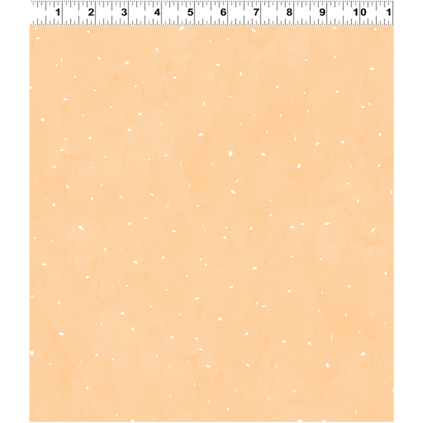 Clothworks Guess How Much I Love You, Flurries, Peach (Y3084-36) per cm or $20/m