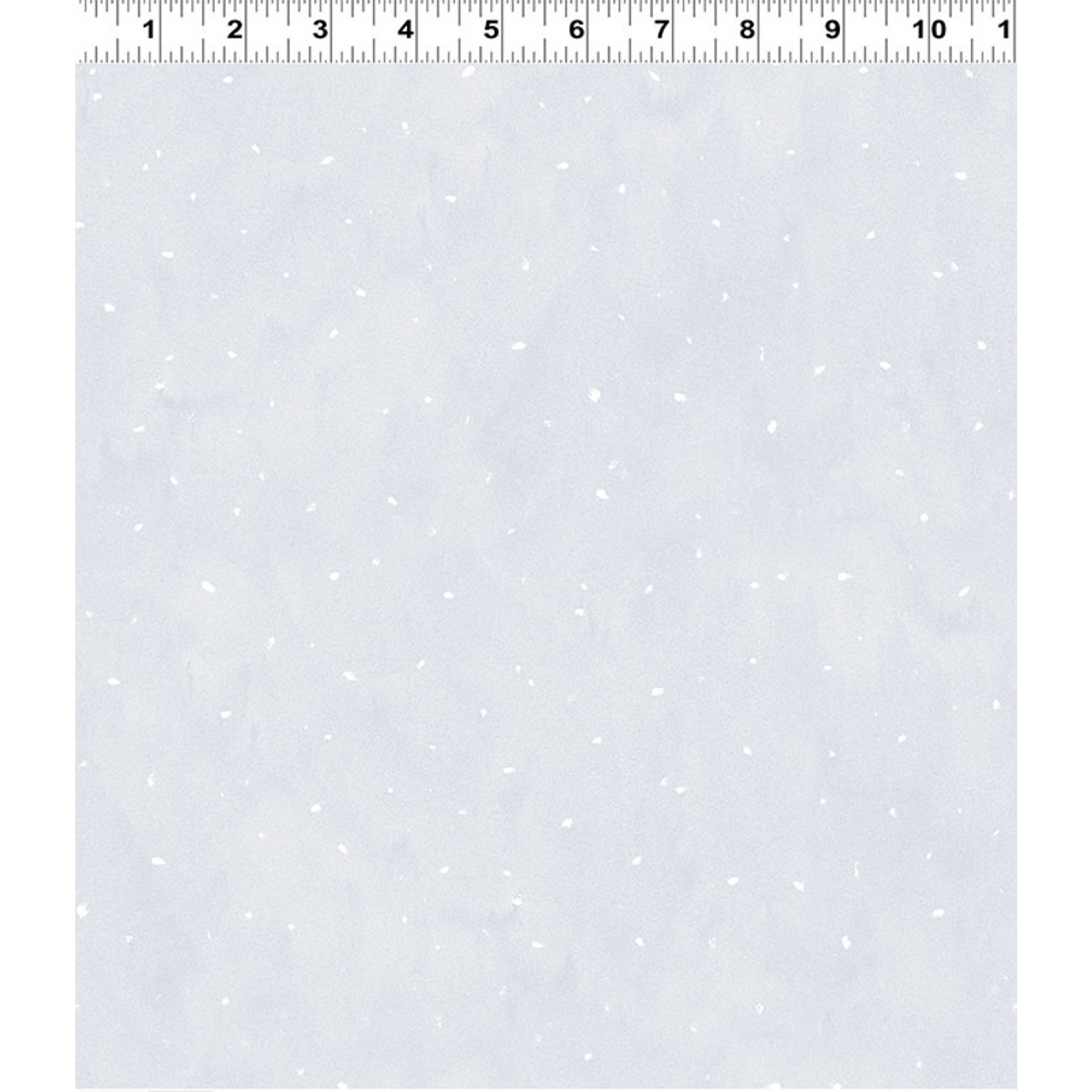 Clothworks Guess How Much I Love You, Flurries, Grey (Y3084-118) per cm or $20/m