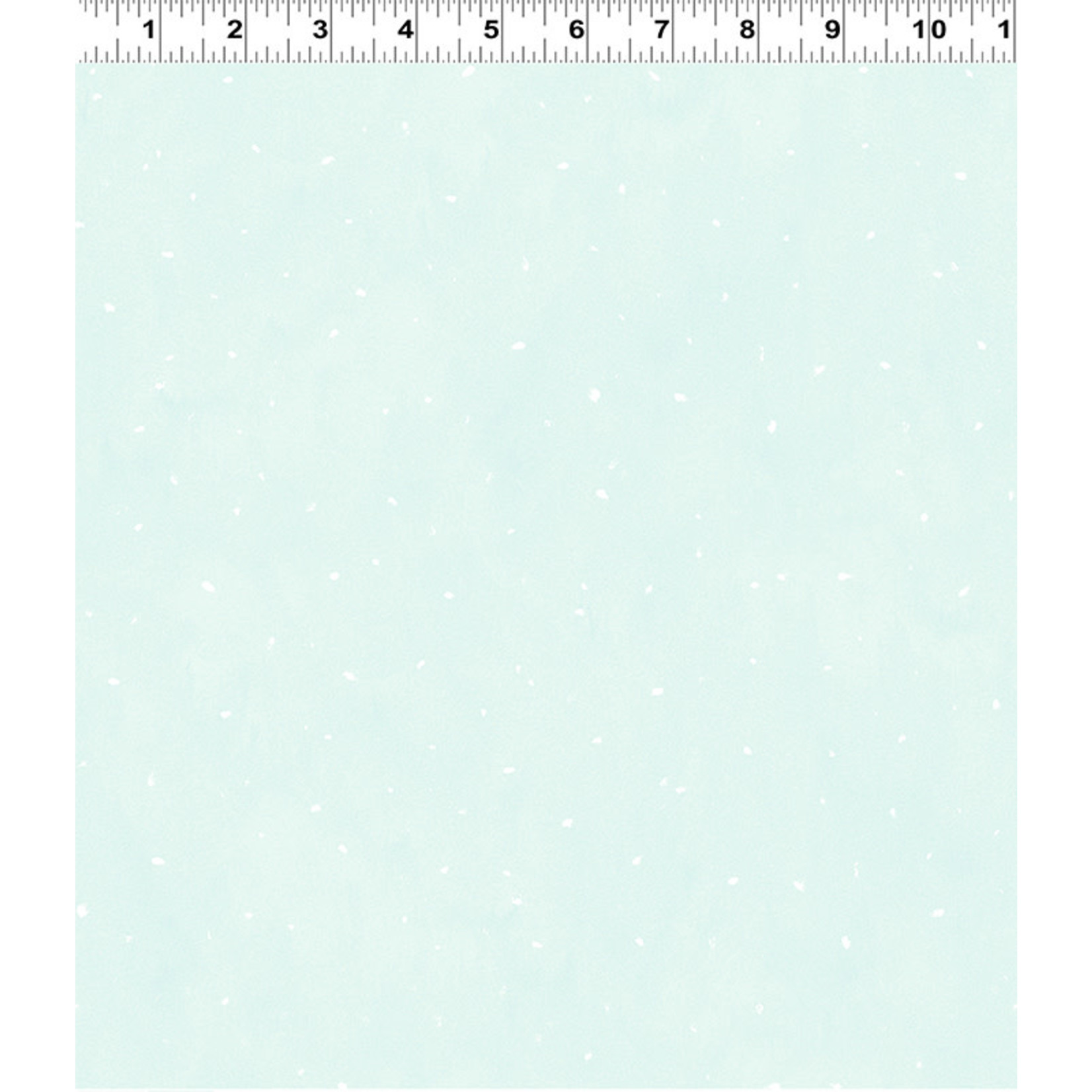 Clothworks Guess How Much I Love You, Flurries, Green (Y3084-100) per cm or $20/m
