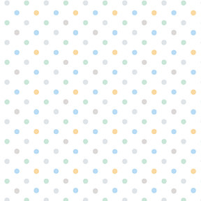 Clothworks Guess How Much I Love You, Flannel, Polka Dot, White (Y3086-54) per cm or $20/m