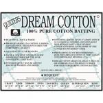 Dream Cotton DREAM COTTON REQUEST DOUBLE WHITE BATTING