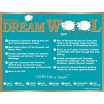 Dream Cotton DREAM WOOL QUEEN BATTING