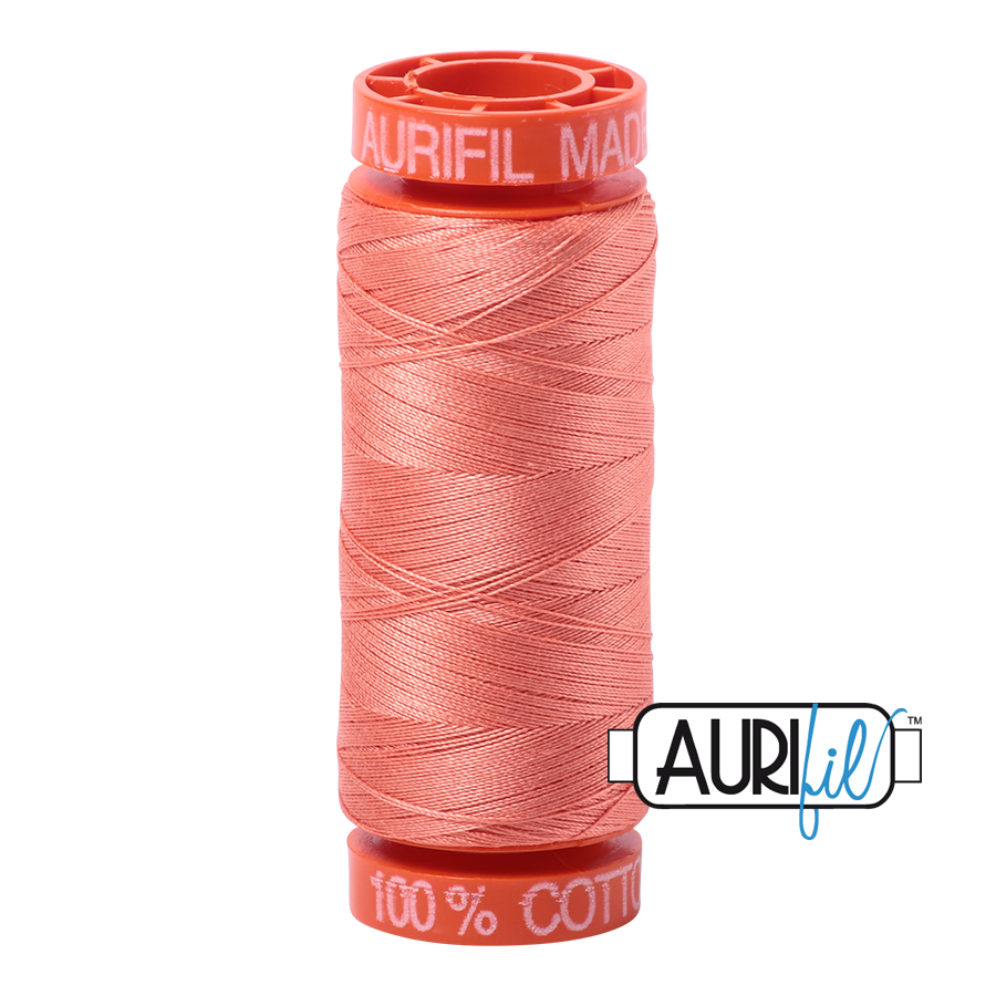 AURIFIL AURIFIL 50 WT Light Salmon 2220 Small Spool