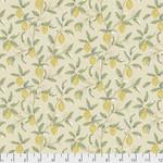 Morris & Co Orkney, Lemon Tree - Linen (PWWM047) per cm or $16/m
