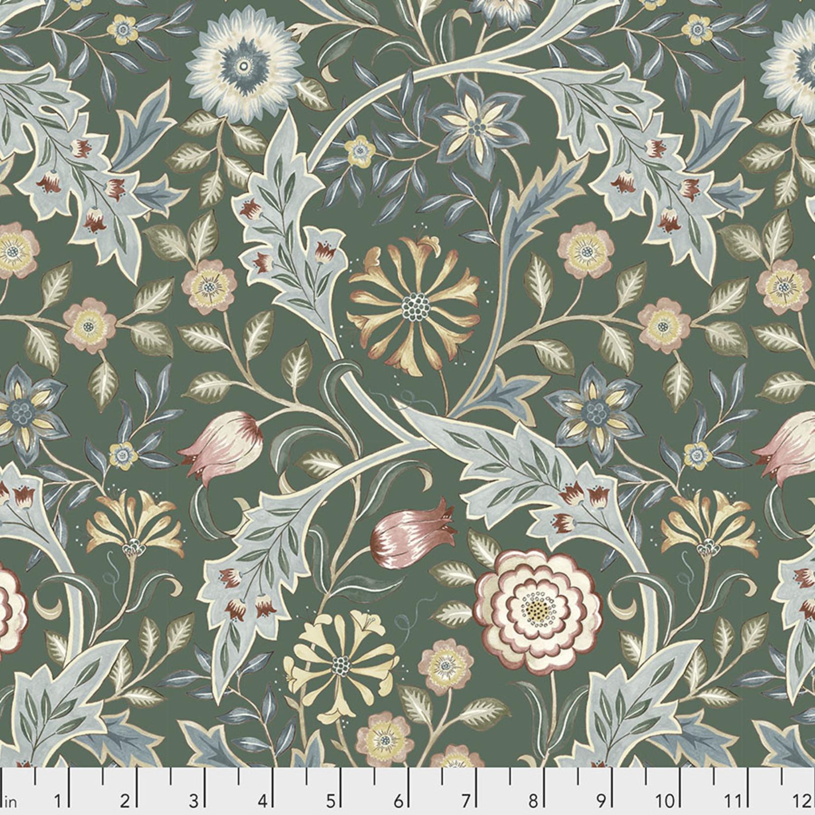 Morris & Co Orkney, Wilhemina - Sage (PWWM049) per cm or $16/m