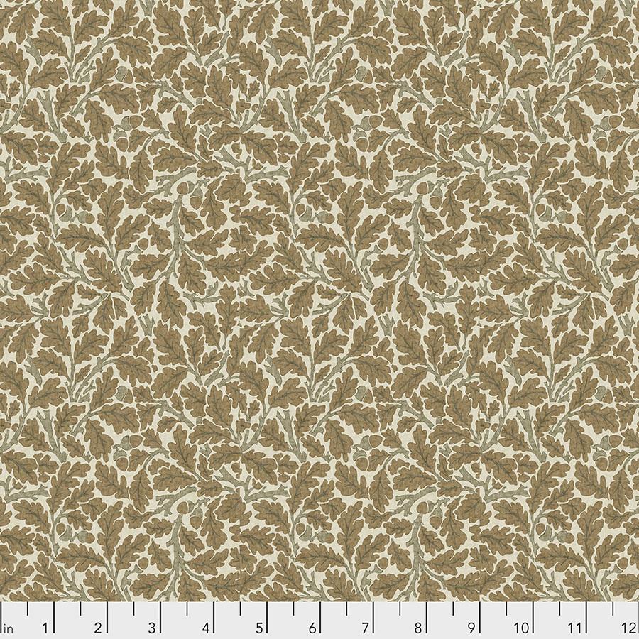 Morris & Co Orkney, Oak - Linen (PWWM050) per cm or $16/m