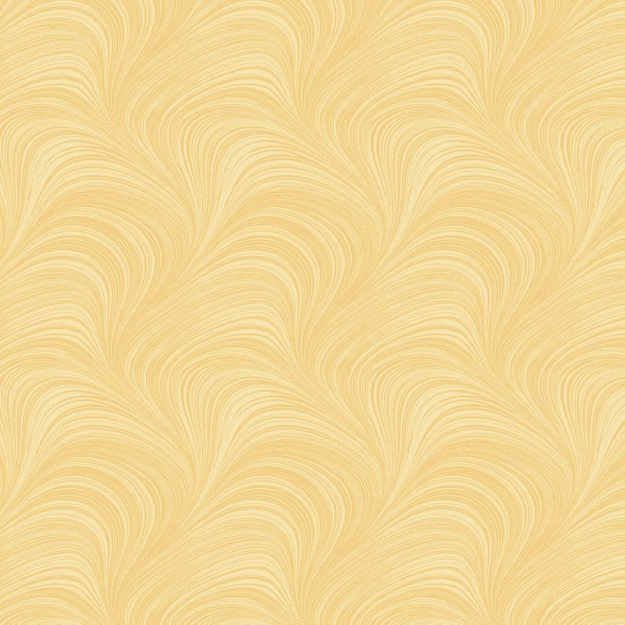 "TREND TEX Wave Texture 108"" Wide Yellow per cm or $32/m"