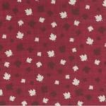 Kate & Birdie Paper Co. True North 2, Leaves, Red 513212-12 per cm or $20/m