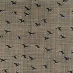 Kate & Birdie Paper Co. True North 2, Geese, Tan 513213-16 per cm or $20/m