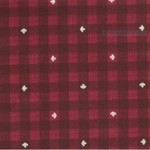 Kate & Birdie Paper Co. True North 2, Buffalo Plaid, Red 513215-13 per cm or $20/m