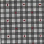 Kate & Birdie Paper Co. True North 2, Buffalo Plaid, Grey 513215-19 per cm or $20/m