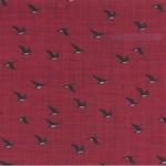 Kate & Birdie Paper Co. True North 2, Geese, Red 513213-12 per cm or $20/m
