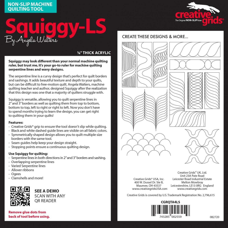 CREATIVE GRIDS CREATIVE GRID SQUIGGY-LS CGRQTA4LS