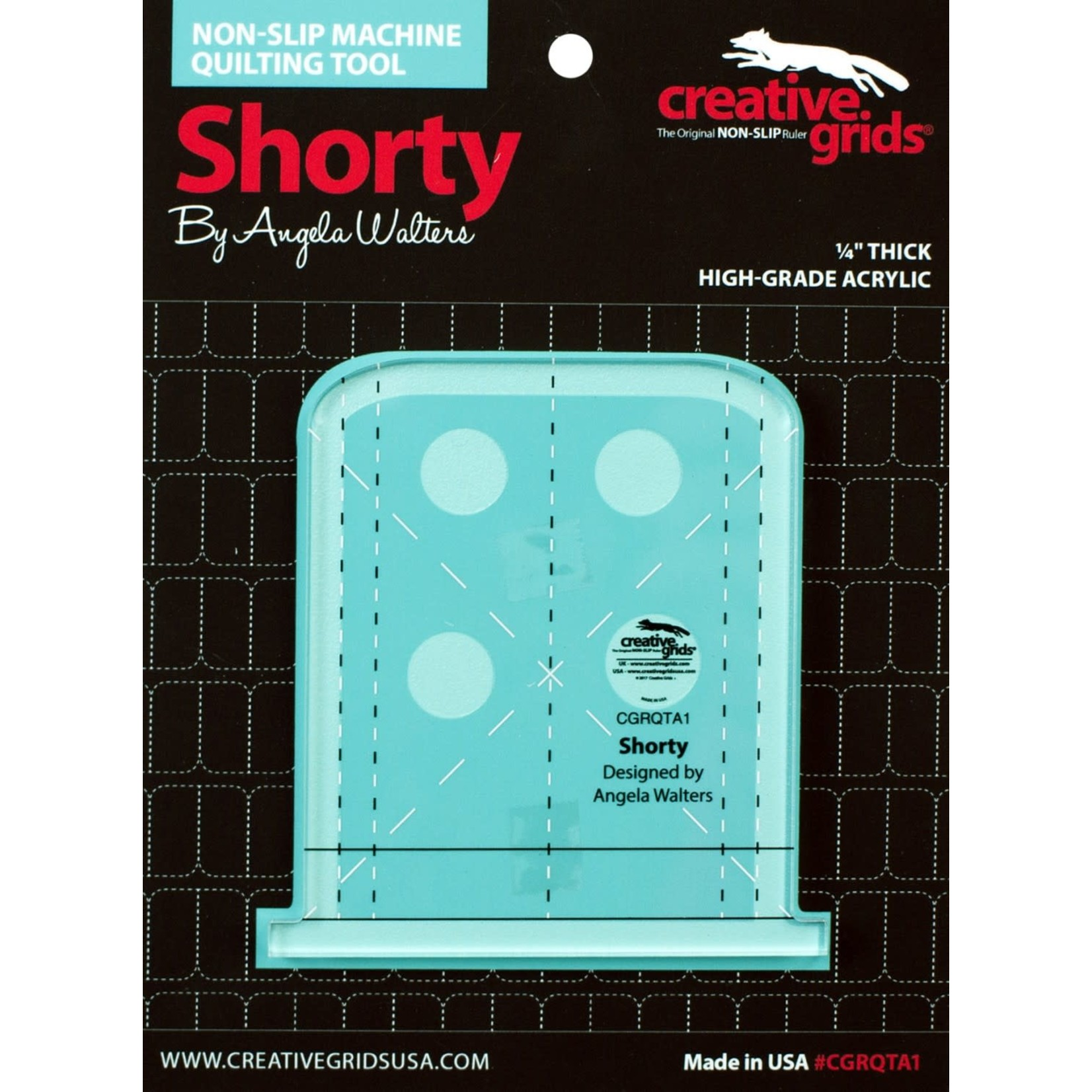 Creative Grids CREATIVE GRIDS SHORTY RULER CGRQTA1