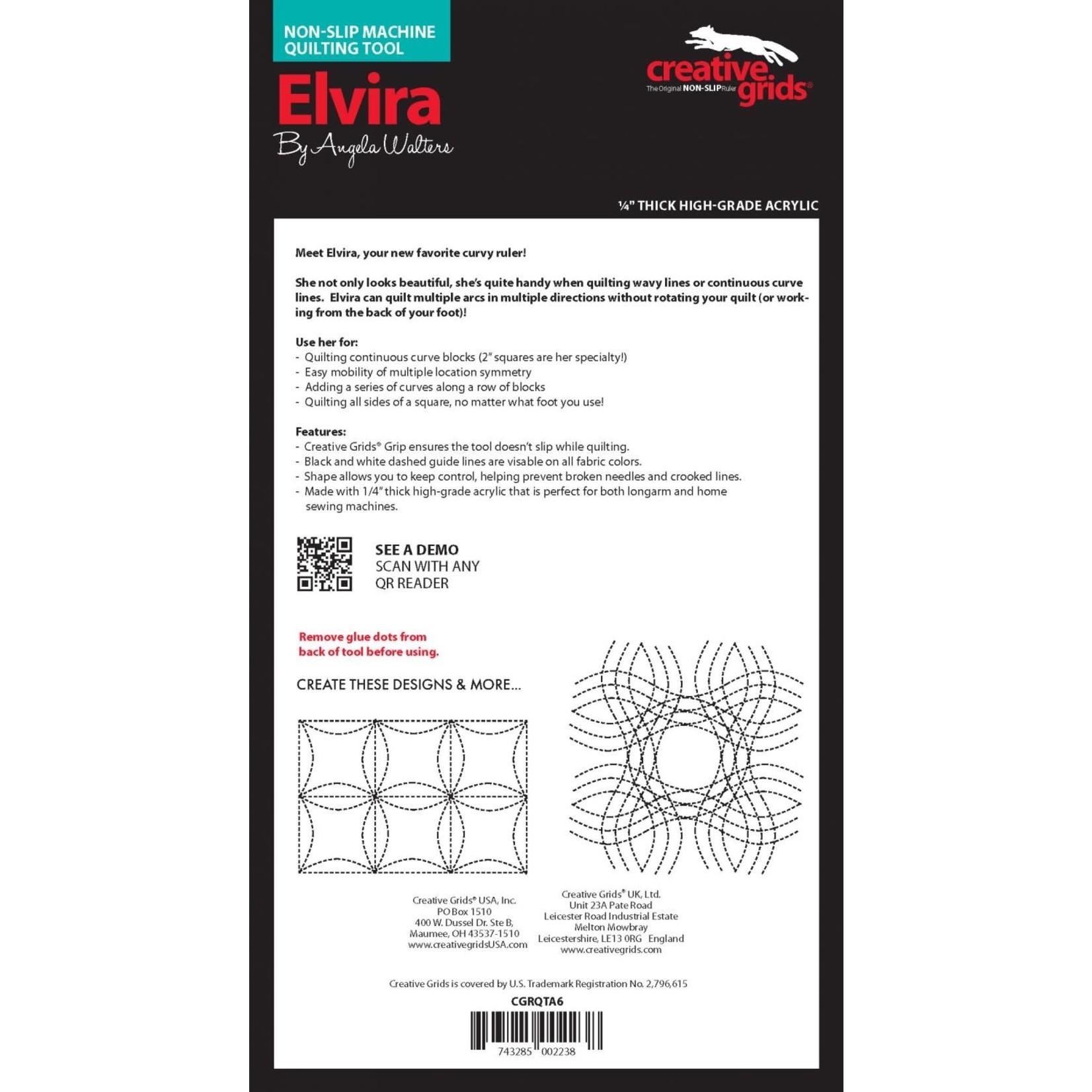 CREATIVE GRIDS CREATIVE GRIDS ELVIRA RULER CGRQTA6