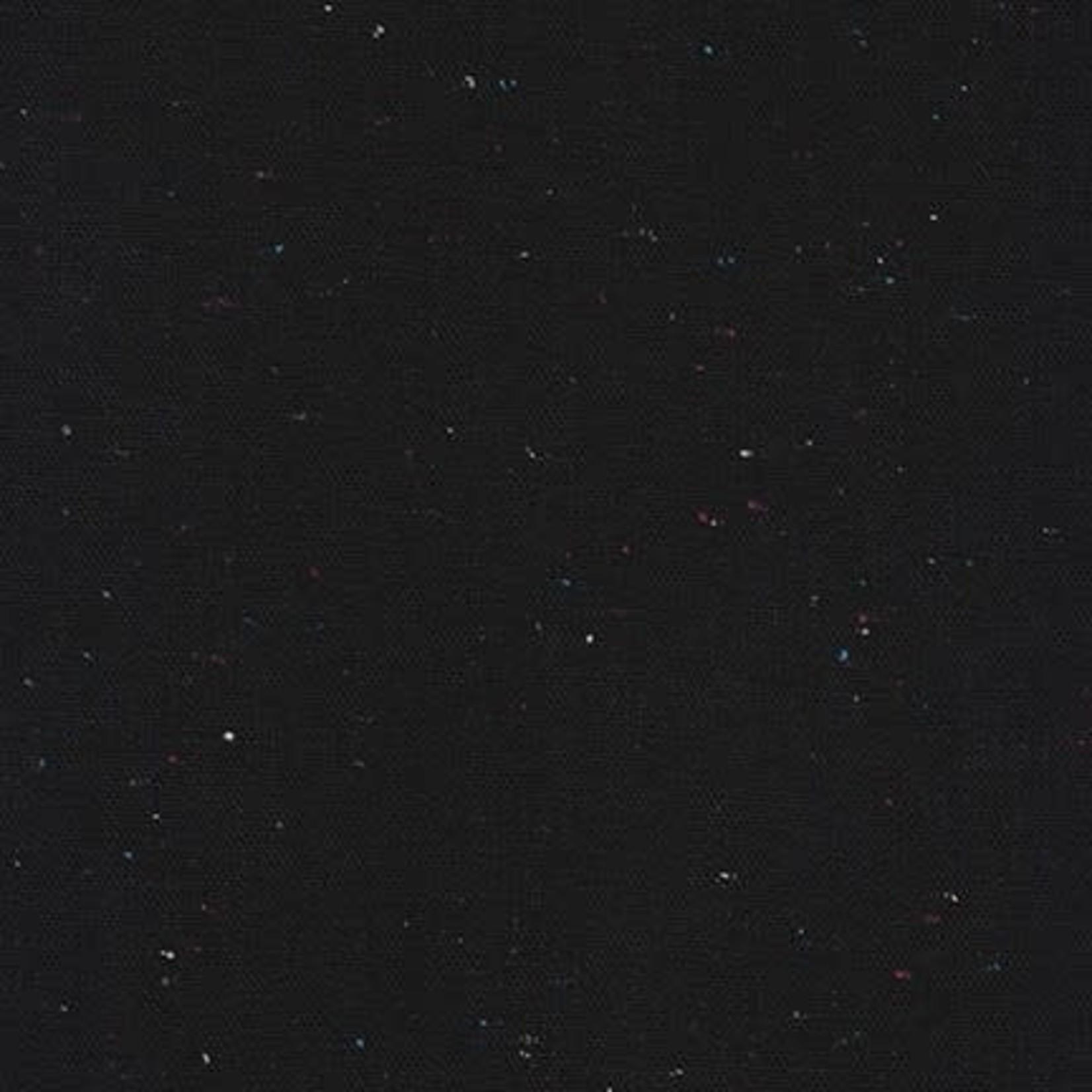 ROBERT KAUFMAN ESSEX YARN DYED SPECKLE, BLACK (LINEN/COTTON) PER CM OR $24 PER M