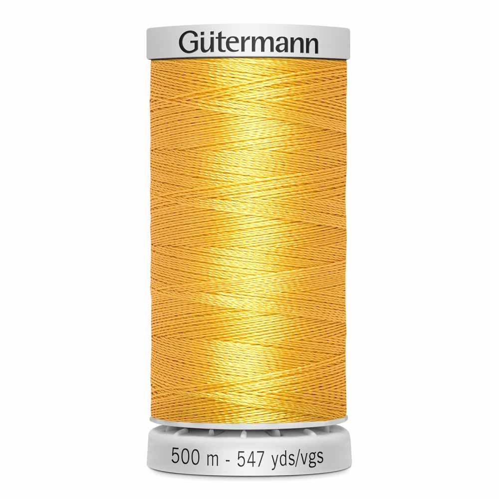 GUTERMANN Col.1850 Gutermann 500m Dekor Rayon Dark Maize