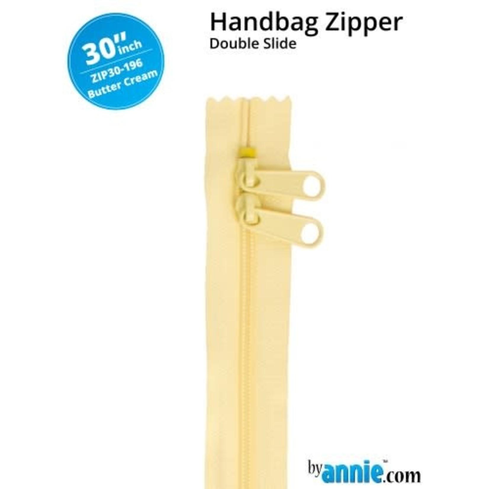 "By Annie Double Slide Handbag Zipper 30"" Yellow/Orange"