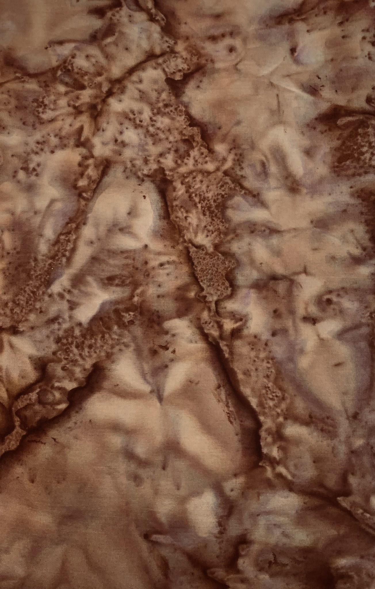 370CM BROWN MARBLED BATIK $20/M