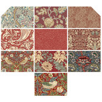 Morris & Co Pre-Order Morris - Fat Quarter - Antique Red (10 pieces)