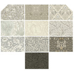 Morris & Co Pre-Order Morris - Fat Quarter - Parchment (10 pieces)