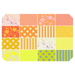 TULA PINK HOMEMADE PRE-ORDER TULA TRUE FAT QUARTER BUNDLE - GOLDFISH