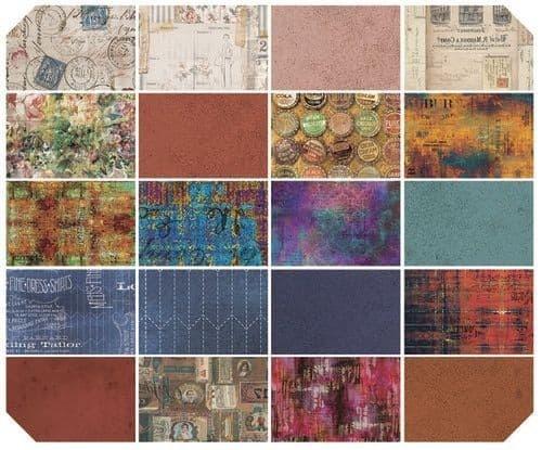 TIM HOLTZ PRE-ORDER Eclectic Elements - Fat Quarter - Bold (20 pcs)