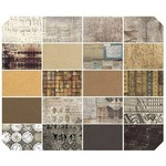 Tim Holtz PRE-ORDER Eclectic Elements - Fat Quarter - Neutral  (20 pcs)