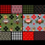 Tula Pink PRE-ORDER Holiday Homies Flannel Half Meter Bundle (19 pcs)