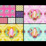 Tula Pink PRE-ORDER Curiouser and Curiouser Full meter Bundle (25pcs)