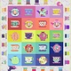 Tula Pink PRE-ORDER Mad Hatter Tea Party Quilt Kit