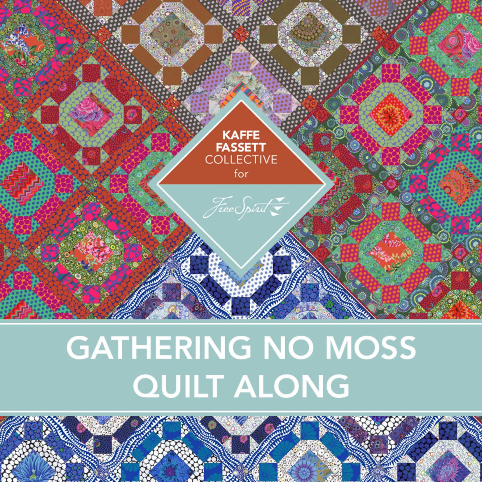 KAFFE FASSETT Gather No Moss Quilt Along