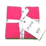 "Tula Pink PRE-ORDER Tula Pink Solids - 5"" Charm Pack (42 pcs)"