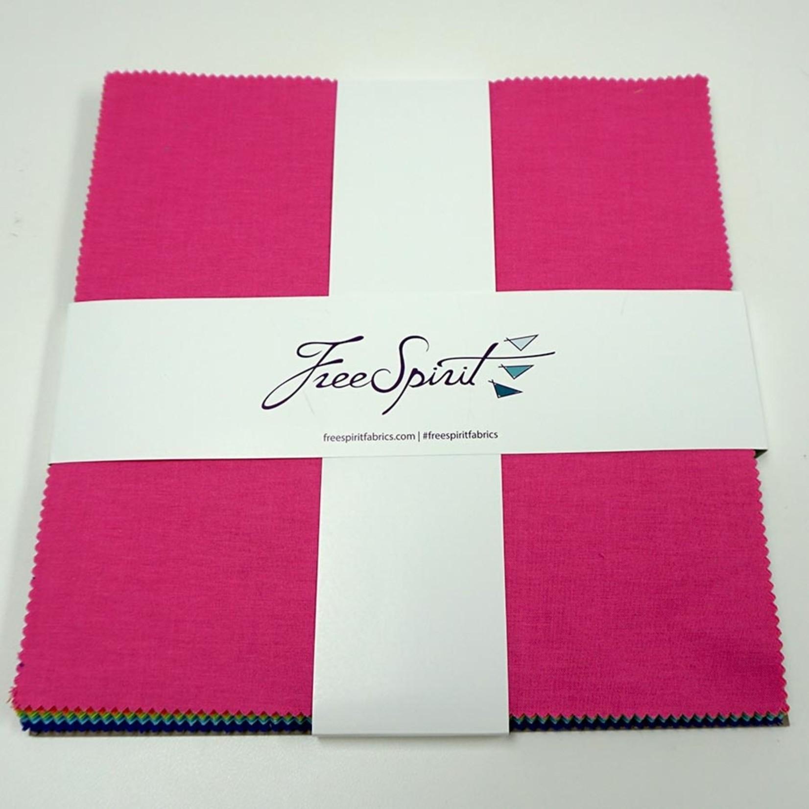 "Tula Pink Tula Pink Solids - 10"" Charm Pack (42 pcs)"