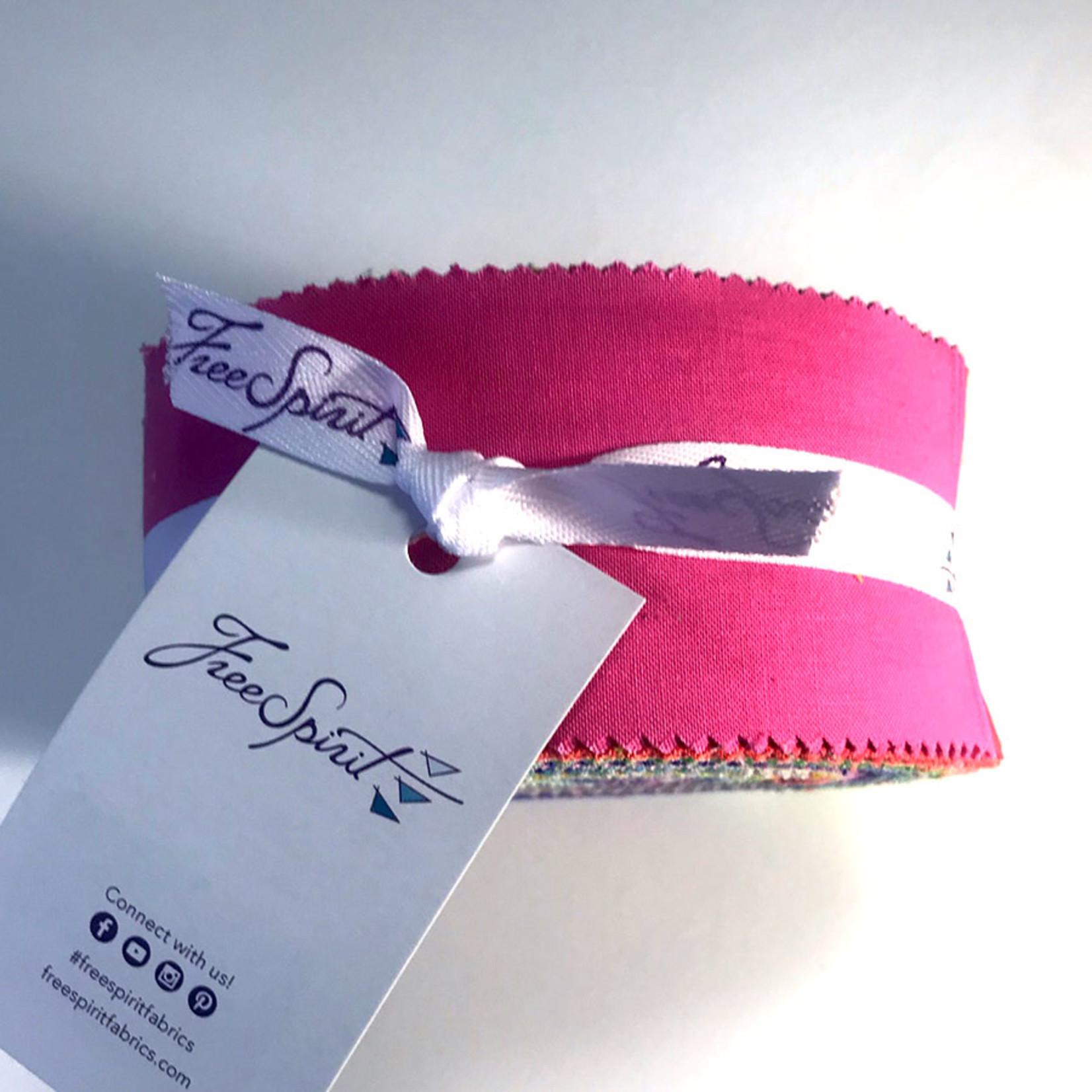Tula Pink PRE-ORDER Tula Pink Solids - Design Roll (40 pcs)