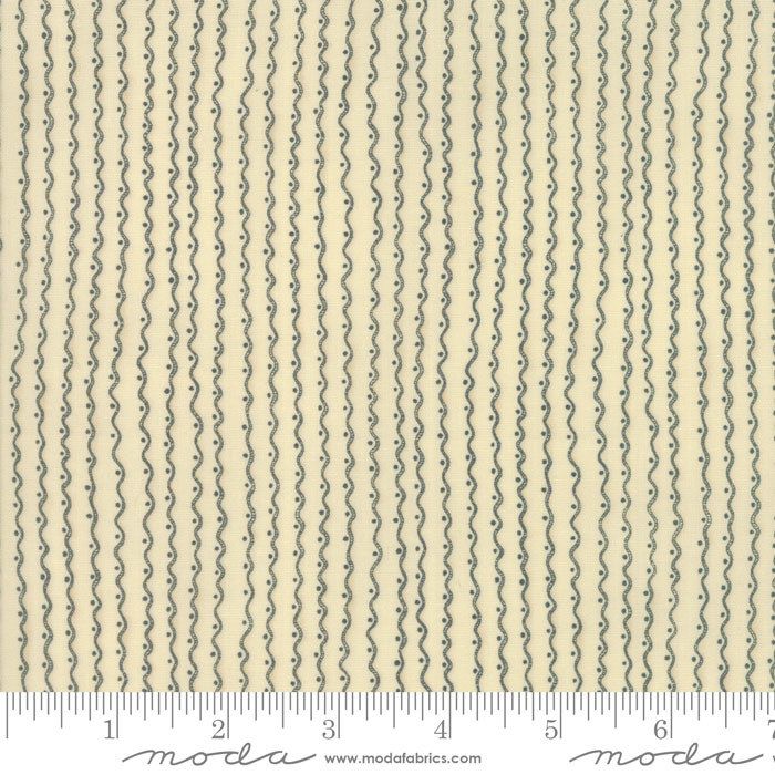 MODA 500CM GARDEN NOTES, $19/M FLORAL RUFFLES IN NATURAL