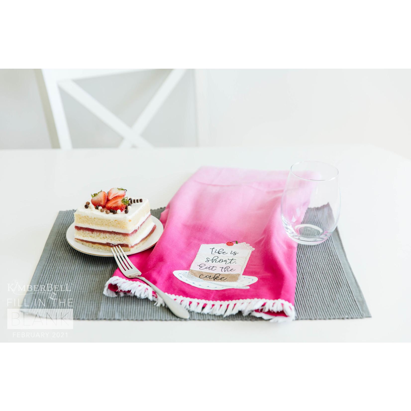 Kimberbell Designs Kimberblanks Ombre Tea Towel Blanks