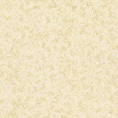 TIMELESS TREASURES 145cm HOLIDAY BLENDERS, METALLIC PIN DOTS, CREAM $0.20 PER CM OR $20/M