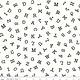 RILEY BLAKE DESIGNS Hungry Animal Alphabet, ABC Toss, Off-White per cm or $20/m