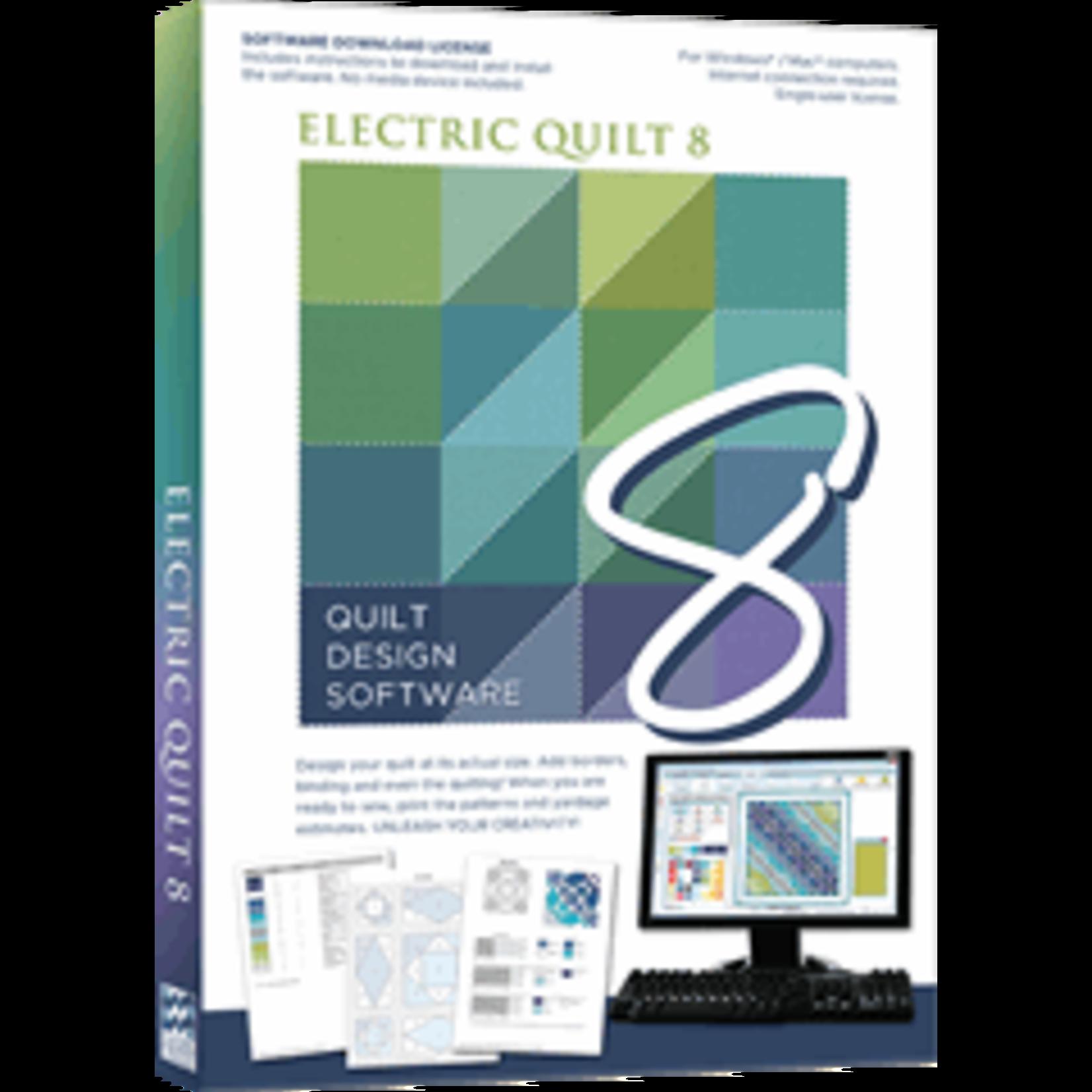 ELECTRIC QUILT COMPANY EQ 8- Electric Quilt Program