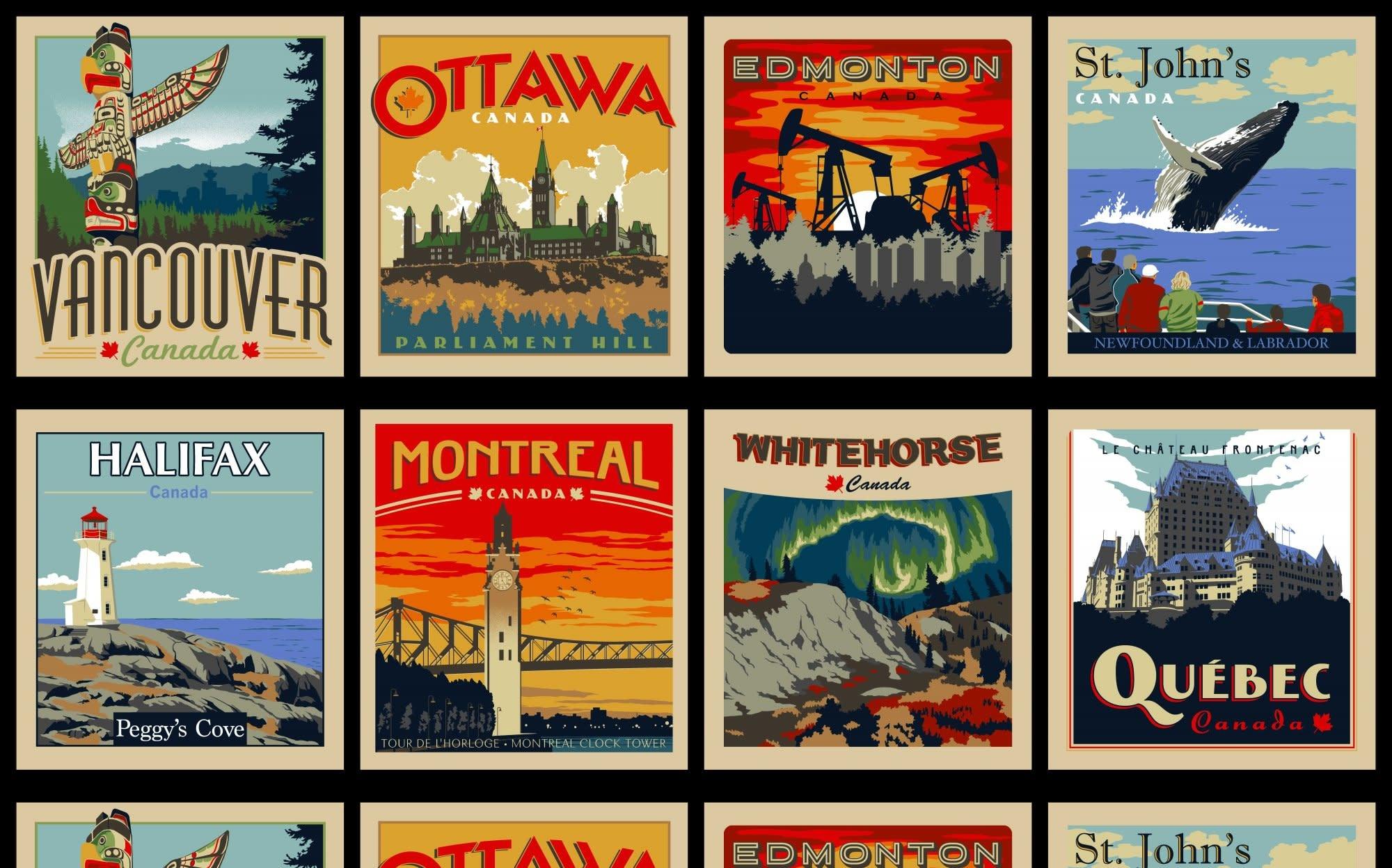 ROBERT KAUFMAN DISCOVER CANADA PANEL #1
