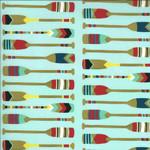 Moda Lakeside Story, Paddles, Robin's Egg Blue (513354-13) $0.20 per cm or $20/m