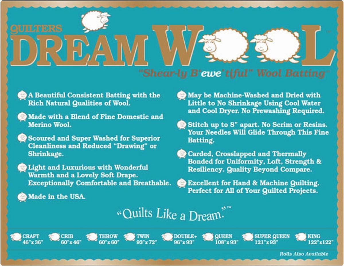 DREAM COTTON DREAM WOOL SUPER QUEEN