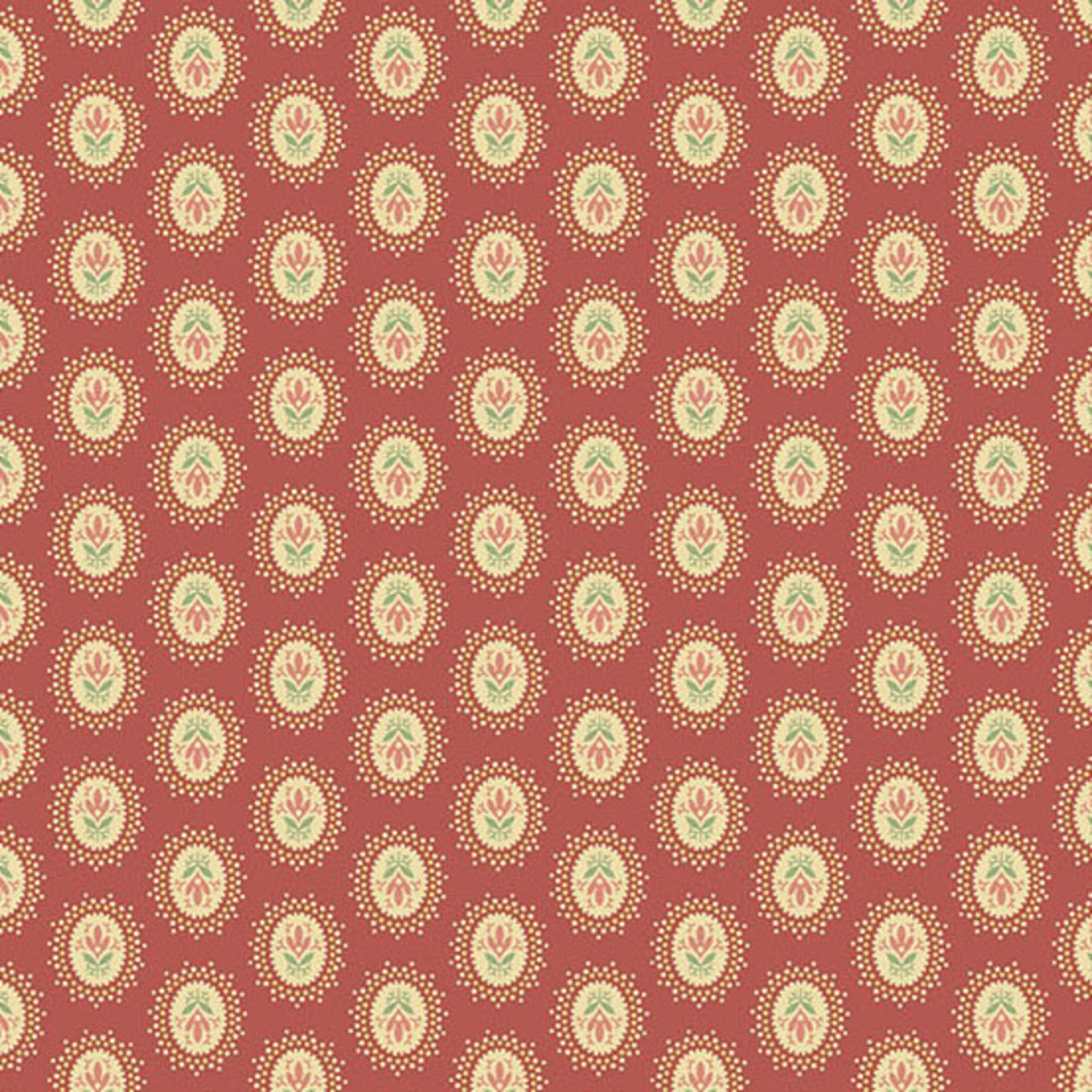 Edyta Sitar Secret Stash - Warms, Medallion, Pink (8616-E) $0.20 per cm or $20/m
