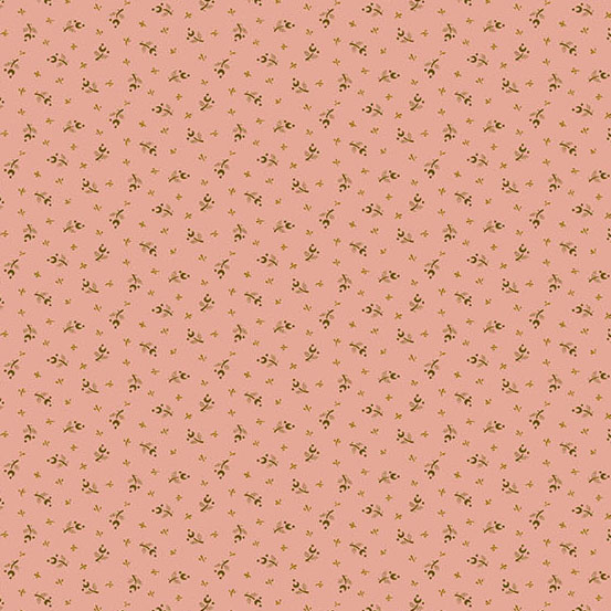 Edyta Sitar Secret Stash - Warms, Moonflower, Pink (9713-E) $0.20 per cm or $20/m